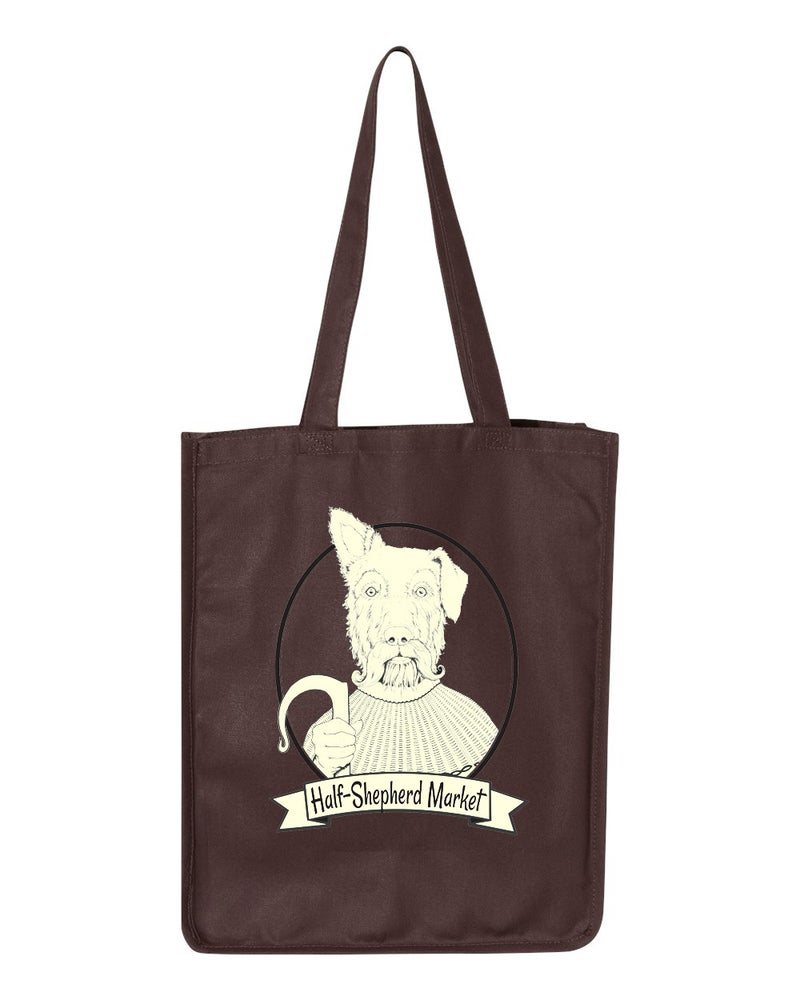 Image of HalfShep Heavy-duty Tote - Chocolate