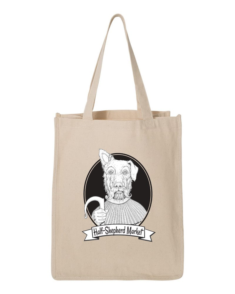 Image of HalfShep Heavy-duty Tote - Natural Canvas