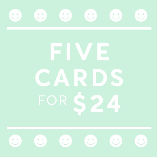 Image of Mix and Match Card Deal - 5 Card Bundle