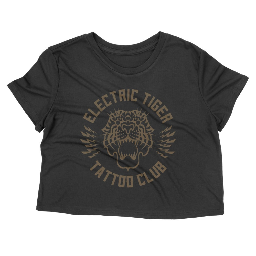 Image of Tattoo Club Crop Tee - Women's