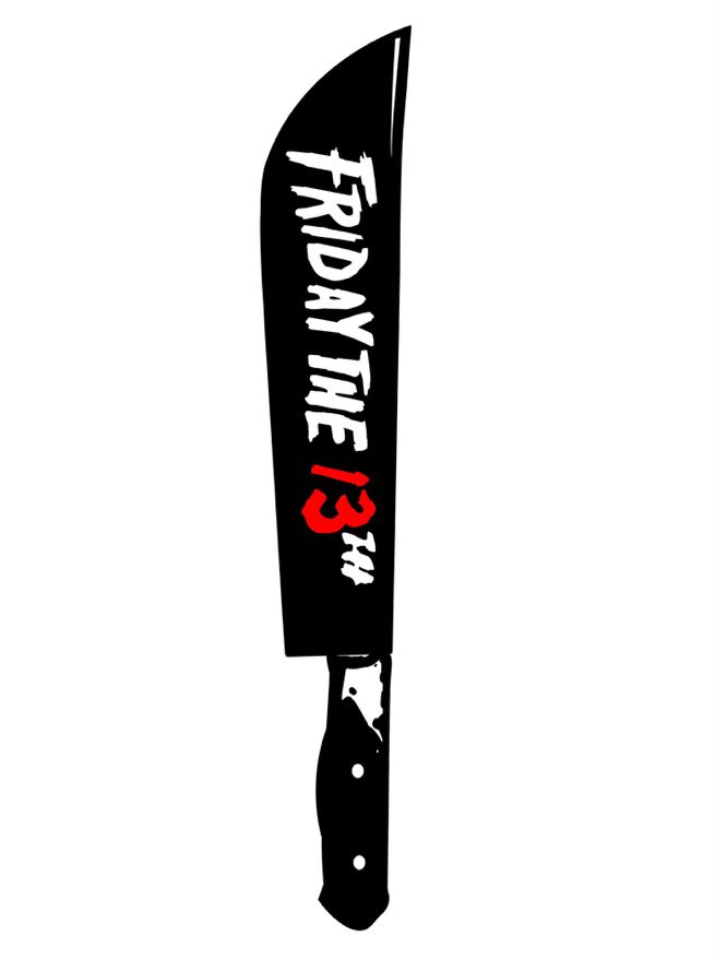 Image of Friday The 13th by Camden Noir (Sticker Only)