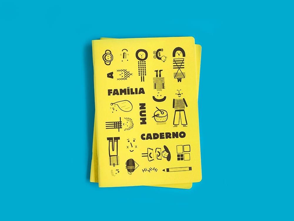 Image of A Família num Caderno