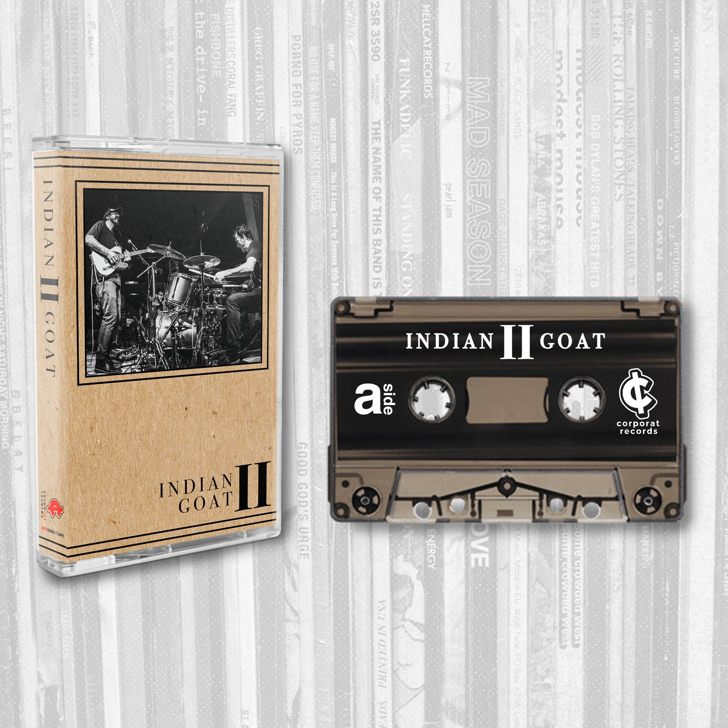 Indian Goat: 2 - Cassette Tape