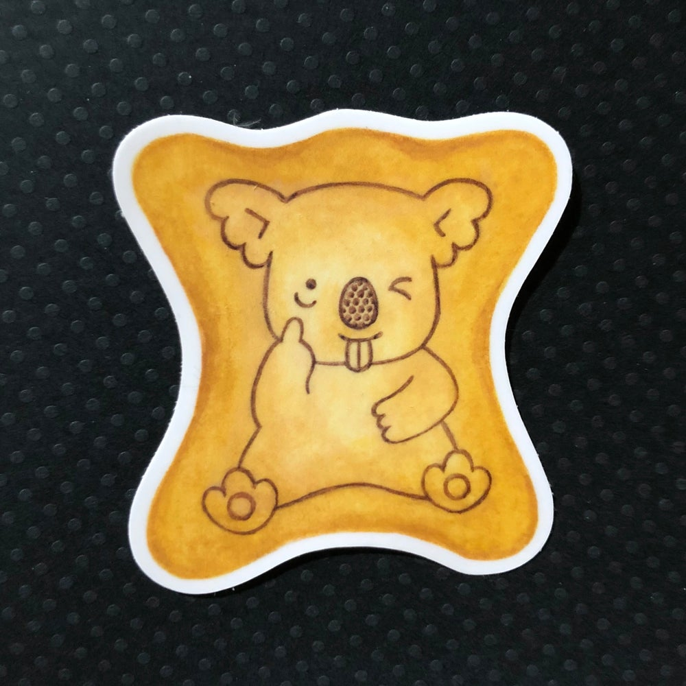 Image of koala yummy sticker
