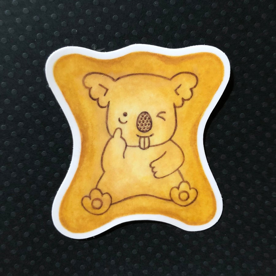 Image of koala yummy sticker