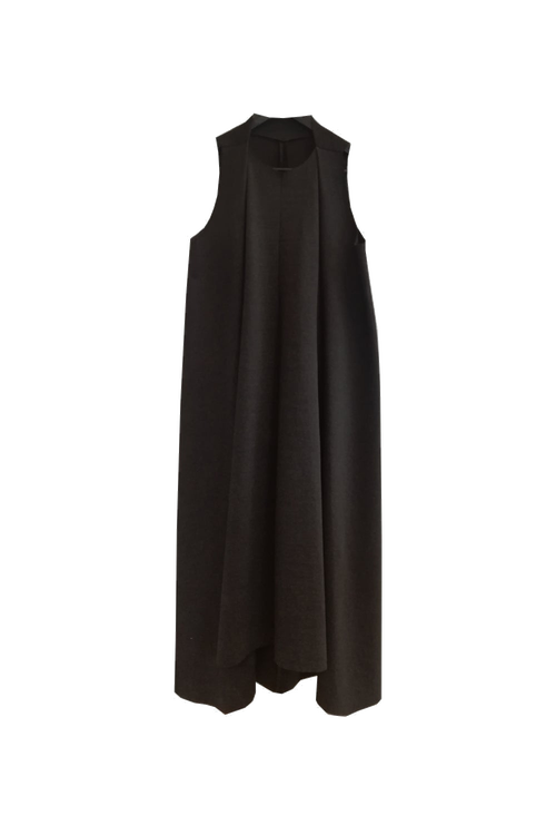 Image of Dress 2 - Organic cotton - Dark grey