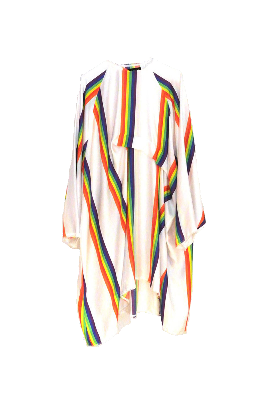 Image of Dress 1 - Silk twill - LGBT