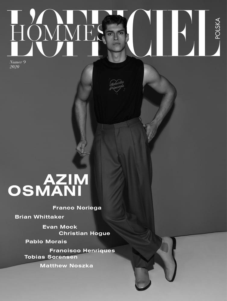 Image of L'OFFICIEL HOMMES POLSKA nr 9/2020 Azim Osmani