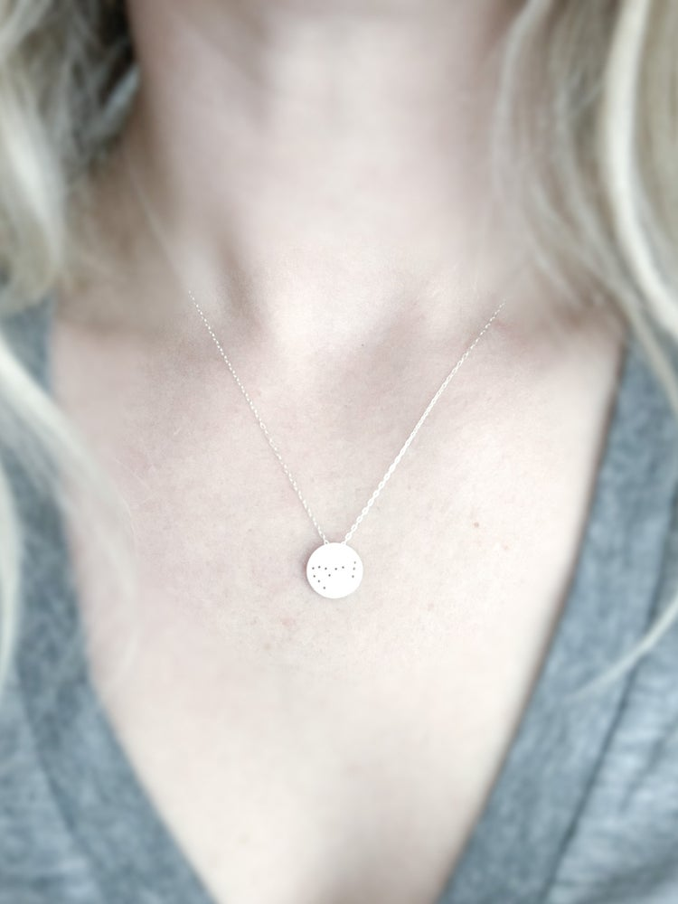 Image of  Zodiac Constellation Necklace