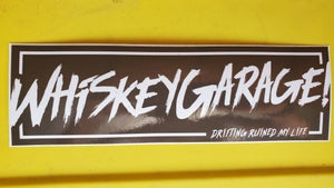 Image of Risky Whiskey Bumper Stickers