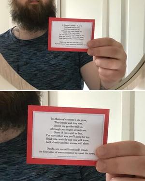 Image of Gender Reveal Printables