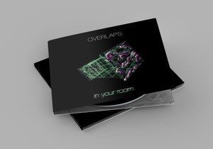 """Image of OVERLAPS """"IN YOUR ROOM"""" - CD digipack"""