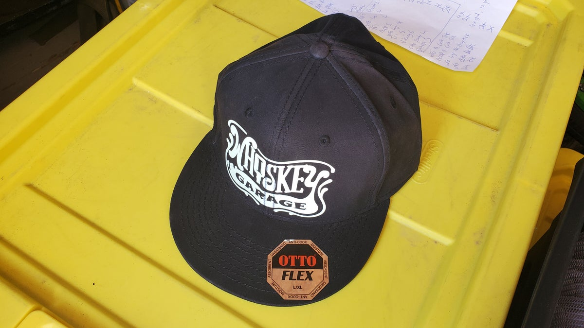 Image of Fitted WG logo hat L/XL