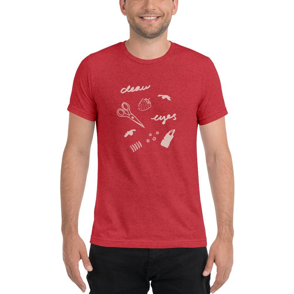 Deau Eyes Cutout T-Shirt Unisex