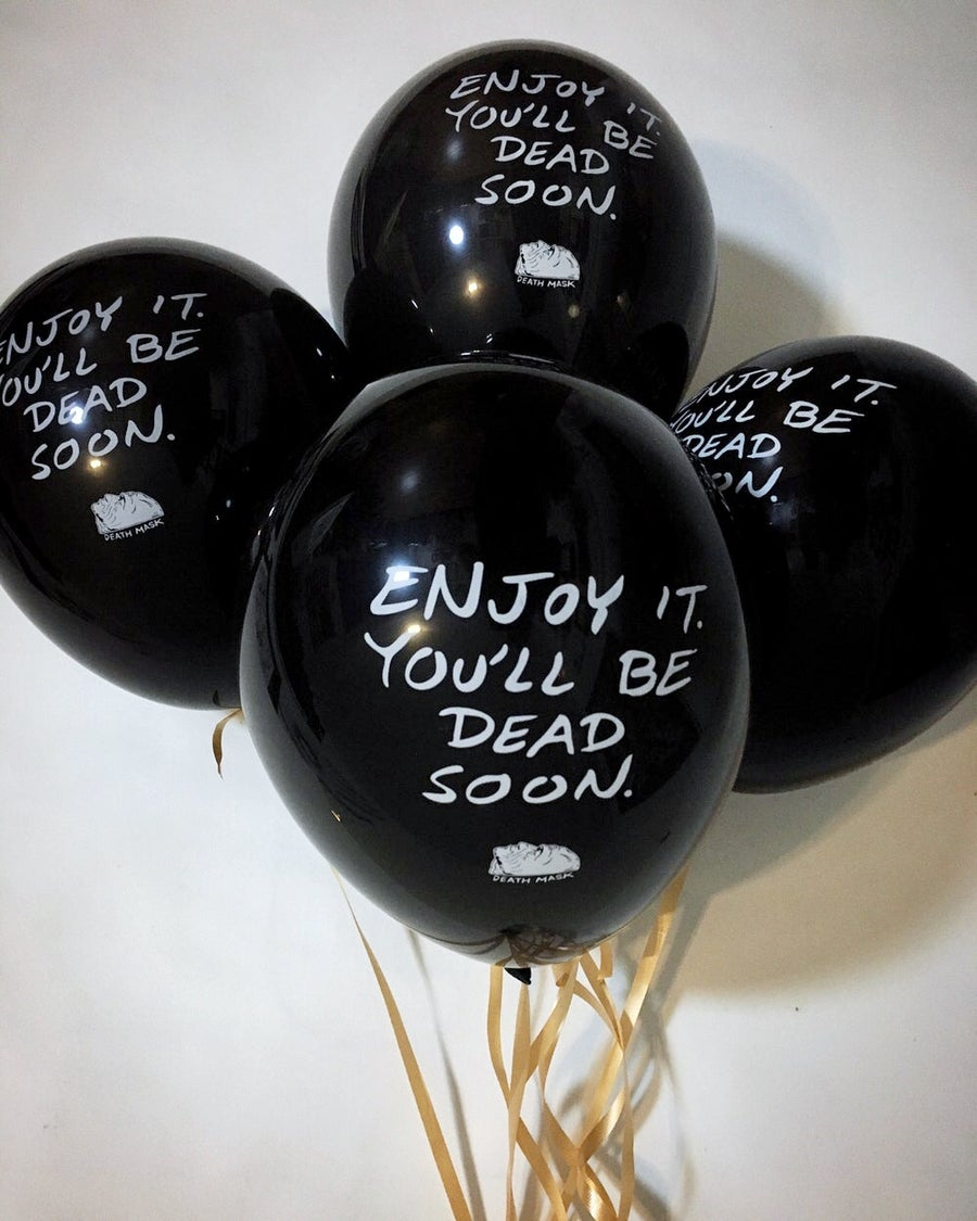 Image of Bummer balloons