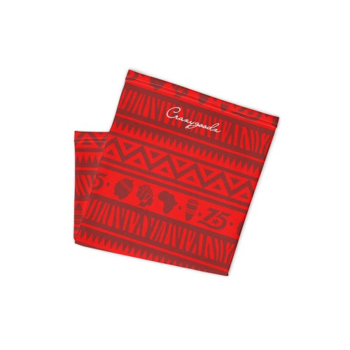 Image of The Culture Red Unisex Neck gaiter