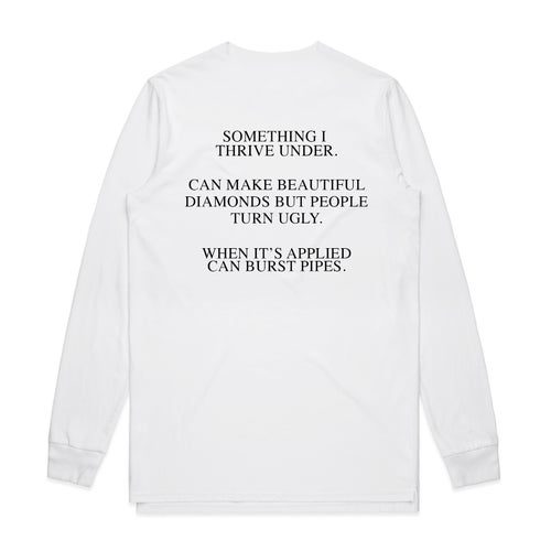 Image of Pressure - Long Sleeve - White