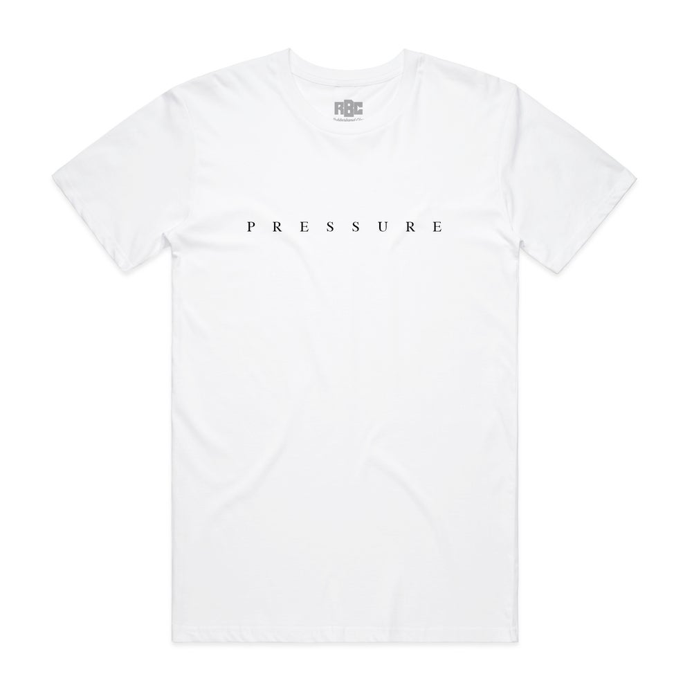 Image of Pressure - Short Sleeve - White