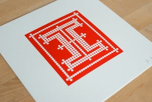 Image of 1st Letterpressed I