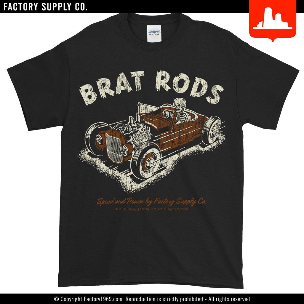 Brat Rods BR012 - skeleton racer • KIDS