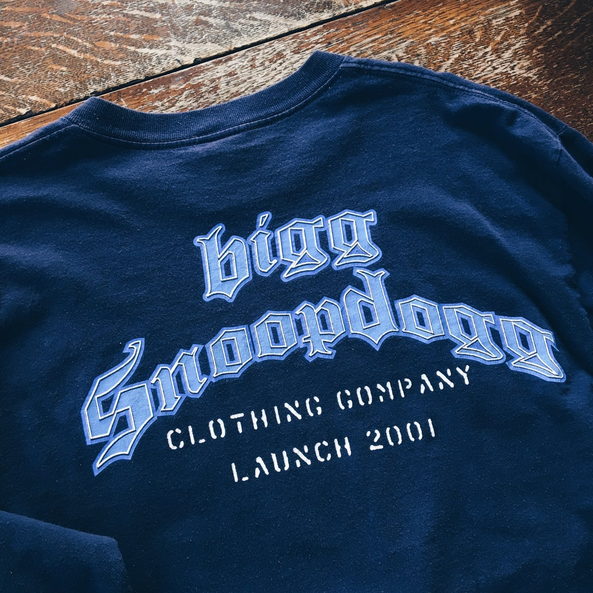 Image of Original 2001 Snoop Dogg Tha Last Meal Promo Tee.