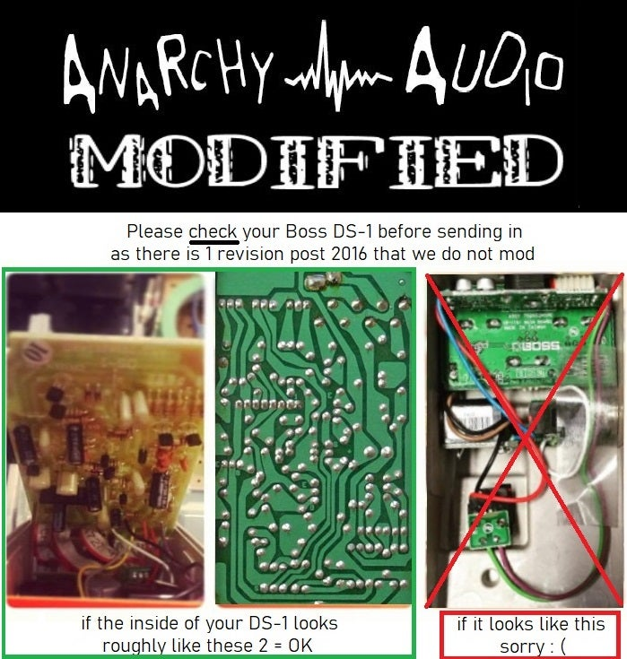 Image of Dirty Secret modification for your own DS-1 Distortion