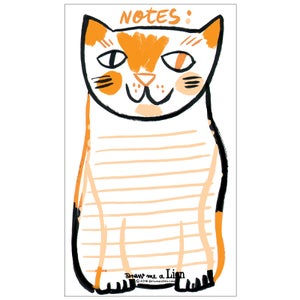 Image of Cat Notepad