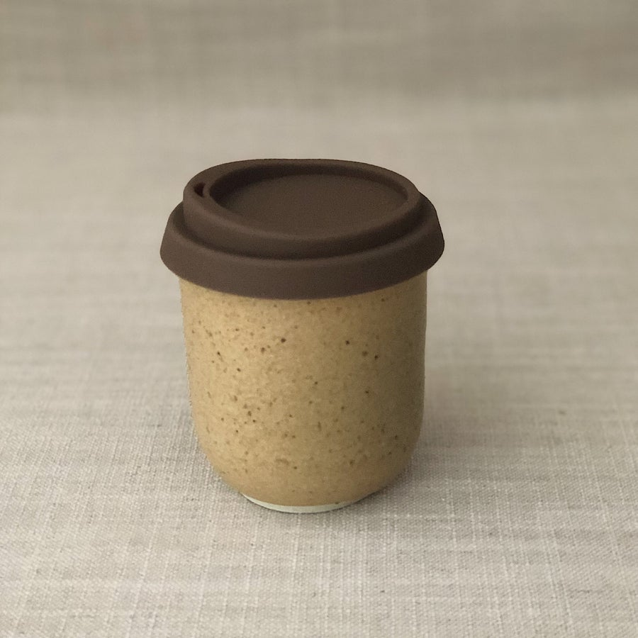 Image of EARTHY ORANGE TRAVEL CUP