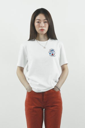 """Image of """"A Whole New World"""" Embroidery Tee"""