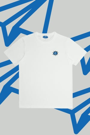 Image of The Cloud Embroidery Tee - Paperplanes