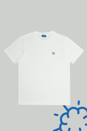 Image of Classic Tiny Cloud Embroidery Tee