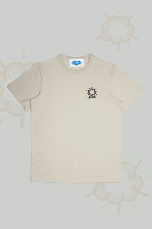 Image of Slasssh Cloud Logo Embroidery Tee