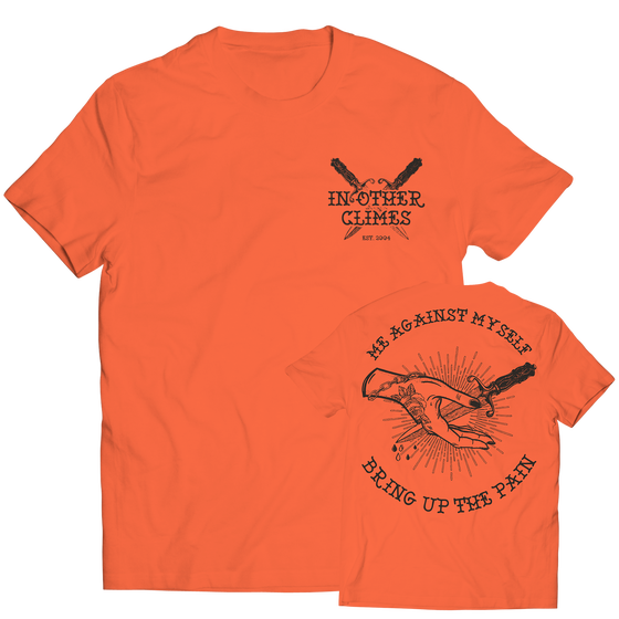 Image of T-shirt Bring Up The Pain (orange)