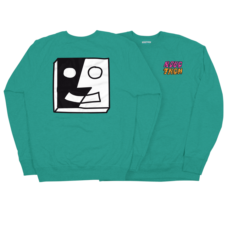 Image of SPLIT FACE Crewneck
