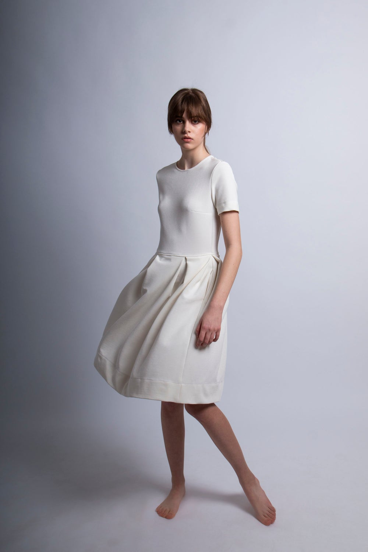 Image of White Linda Dress