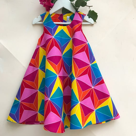 Image of Spin dress in Rainbow 🌈