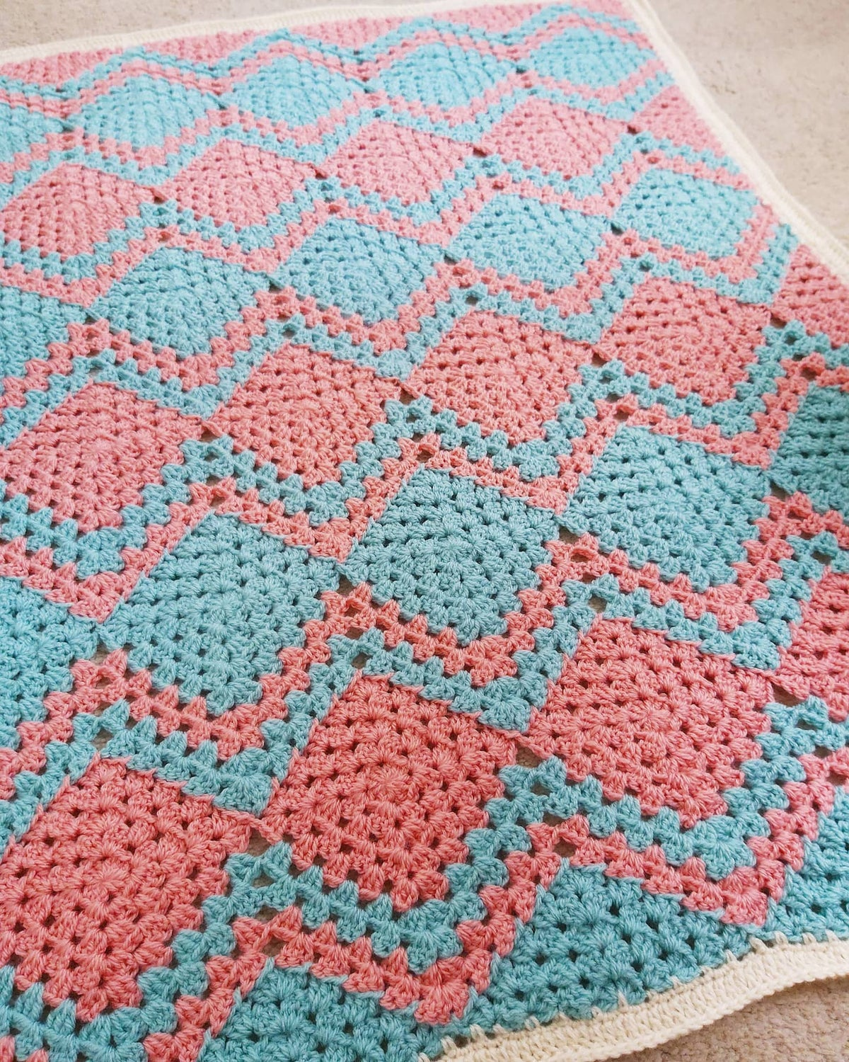 Image of Mixed up Granny Blanket!