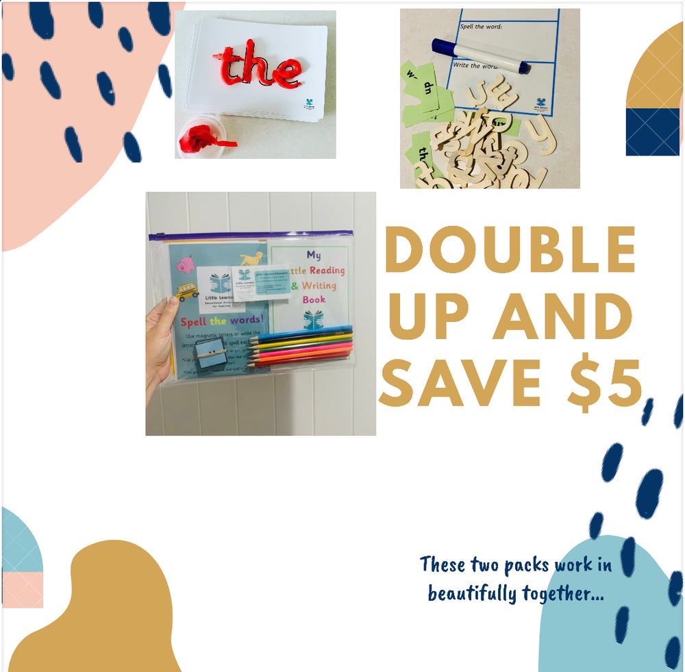 Image of Double up!! Word work pack & beginning readers pack