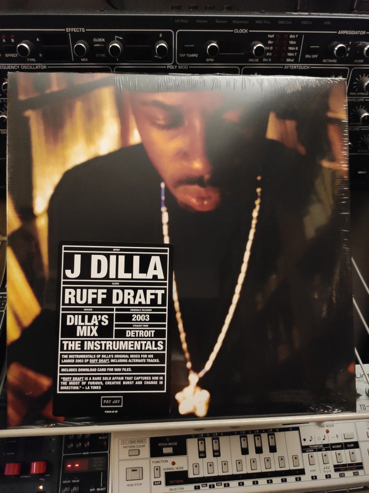 Image of J Dilla ‎– Ruff Draft: Dilla's Mix The Instrumentals