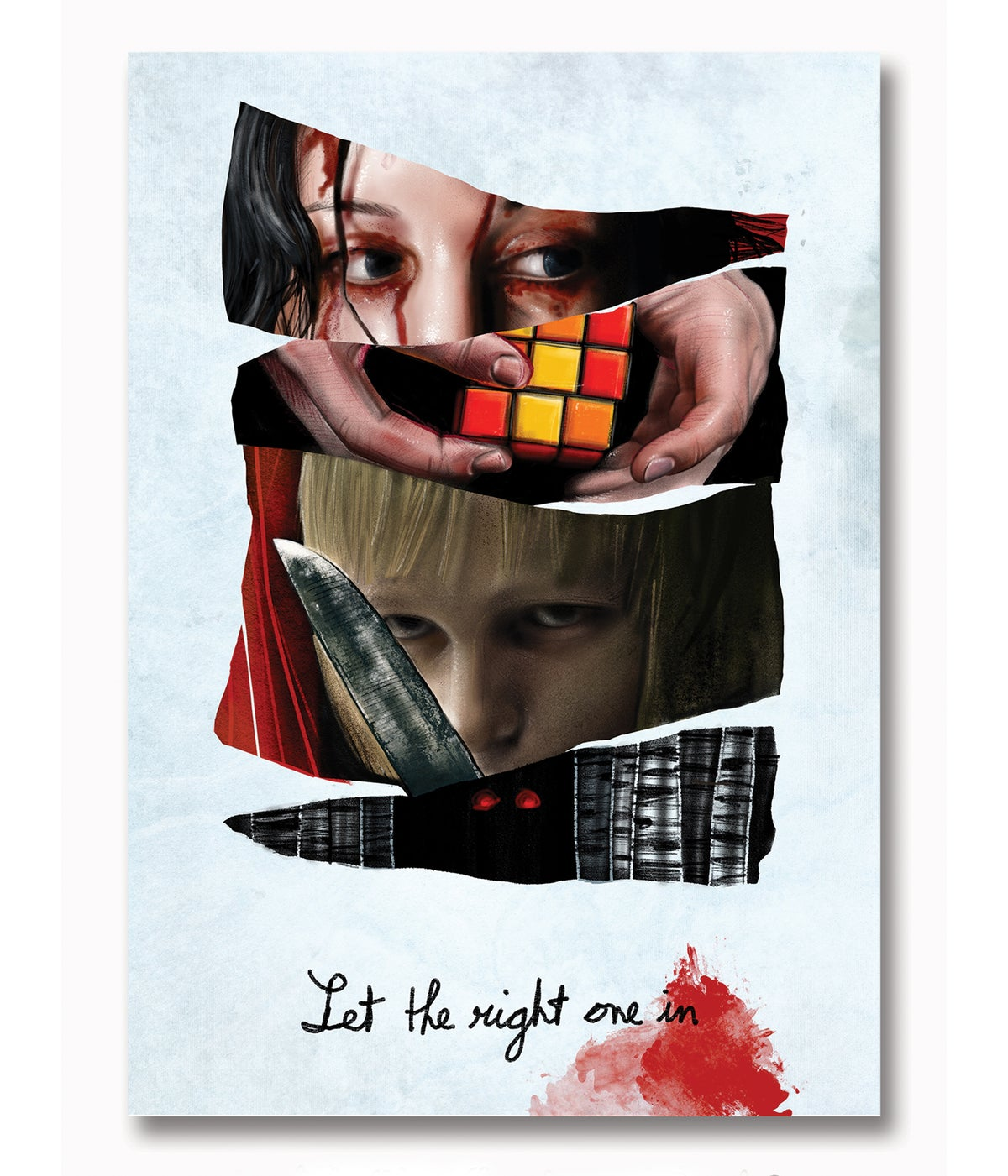 Affiche LET THE RIGHT ONE IN A3 (Fanart)