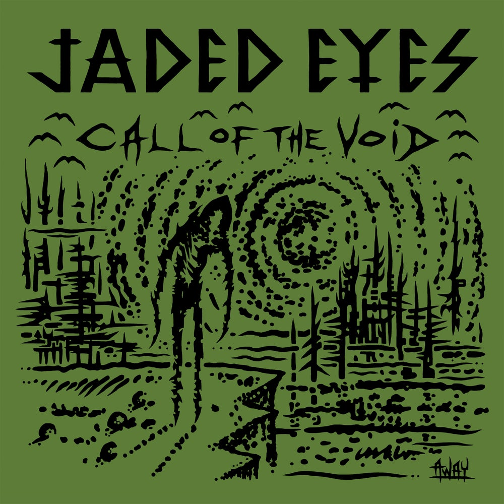 Image of JADED EYES - CALL OF THE VOID LP with CD included