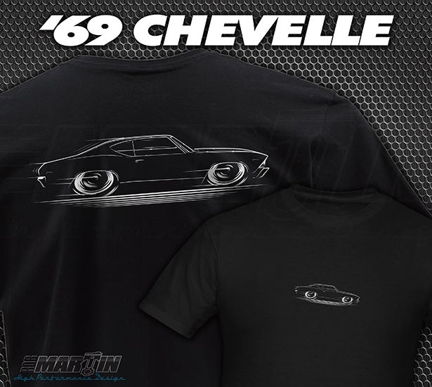 Image of 1969 Chevelle T-Shirts Hoodies & Banners