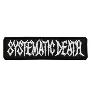 Image of SYSTEMATIC DEATH - Logo1 -  Patch (Official)