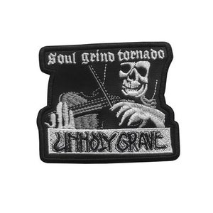 Image of UNHOLY GRAVE Patch (Official)