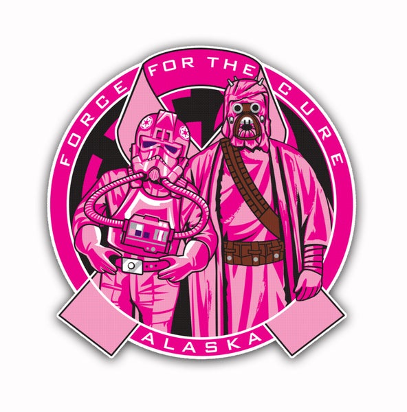 Image of Force For The Cure Alaska Patch