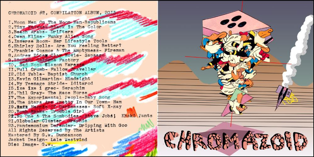 Chromazoid #2 Comics and Mix Tape Anthology