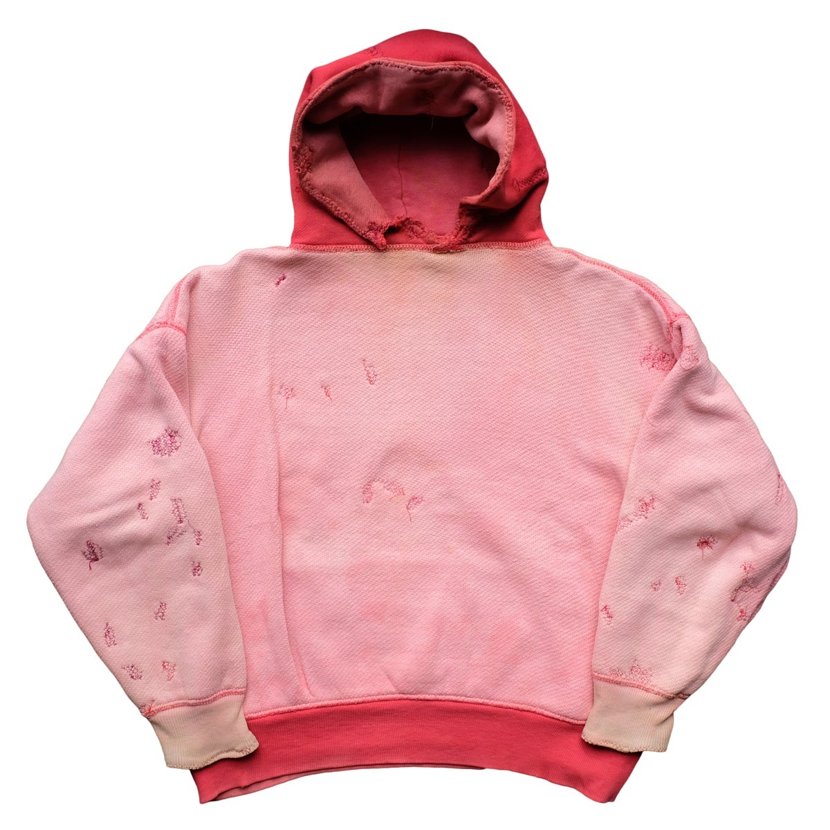 Image of Vintage 50's Double Face Two Tone Hoodie