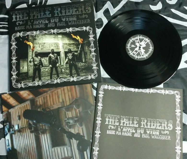 "Image of B.M.H & P.W: THE PALE RIDERS - 12"" LP - BLACK VINYL"