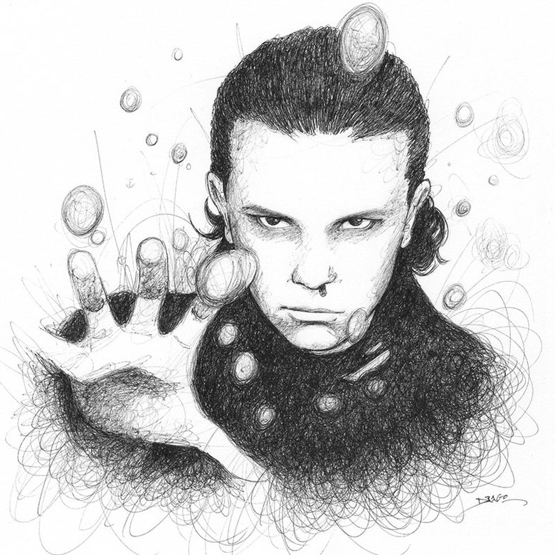 Image of Millie Bobby Brown Doodle
