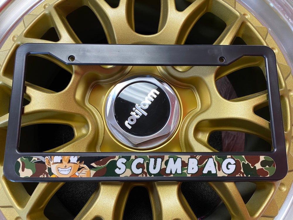 Image of SCUMBAG PLATE FRAME